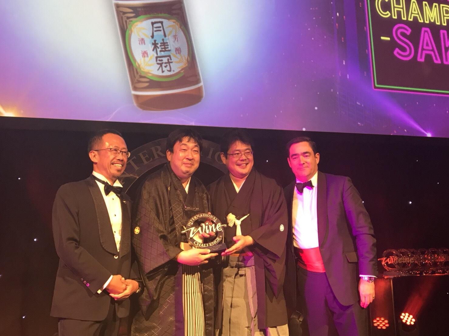 月桂冠『特撰』がIWC2018でグレートバリュー・アワードを受賞!