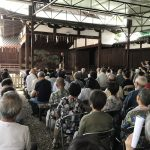 「近江猿楽 多賀座」の伏見御香宮 奉納公演に行ってきました