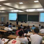 京都産業大学さんで特別講義をしてきました!