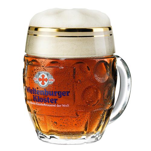 ヴェルテンブルガー 樽型ビールジョッキ 500mL