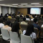 関西学院大学さんで日本酒勉強会を行いました!