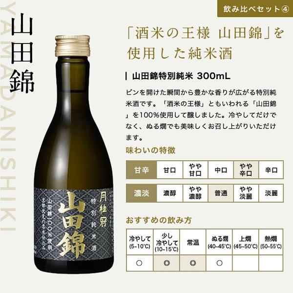 お歳暮限定 日本酒 飲み比べセット6