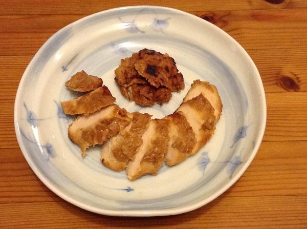 粕漬け鶏(完成)