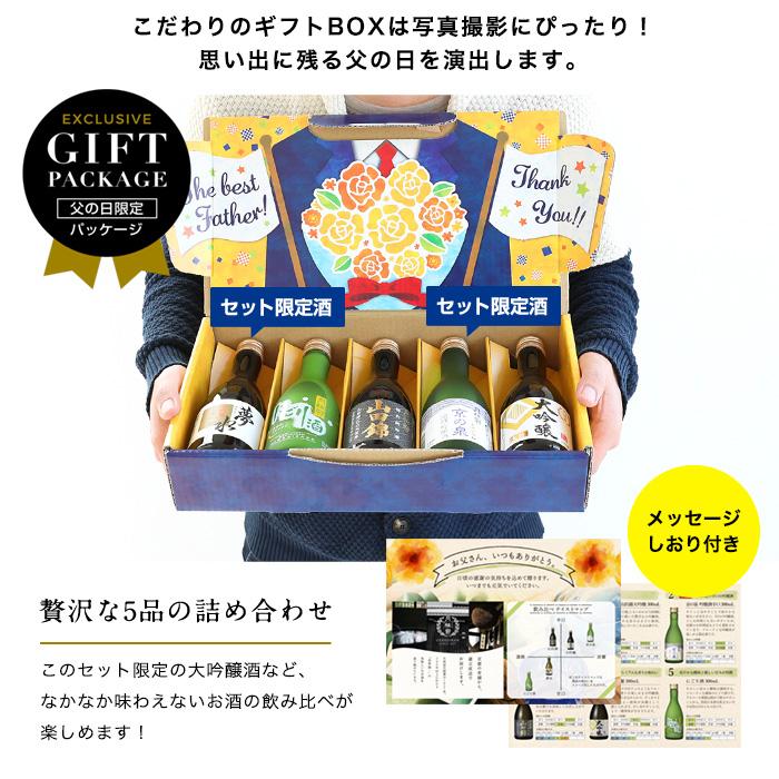 父の日限定日本酒飲み比べセット_2